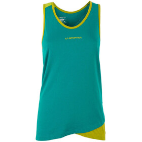 La Sportiva Dihedral Sleeveless Shirt Women yellow/green